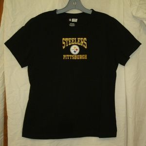 Womens Pittsburgh Steelers Football T-Shirt